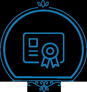 Kontakt fru grundig - 5 certifikater